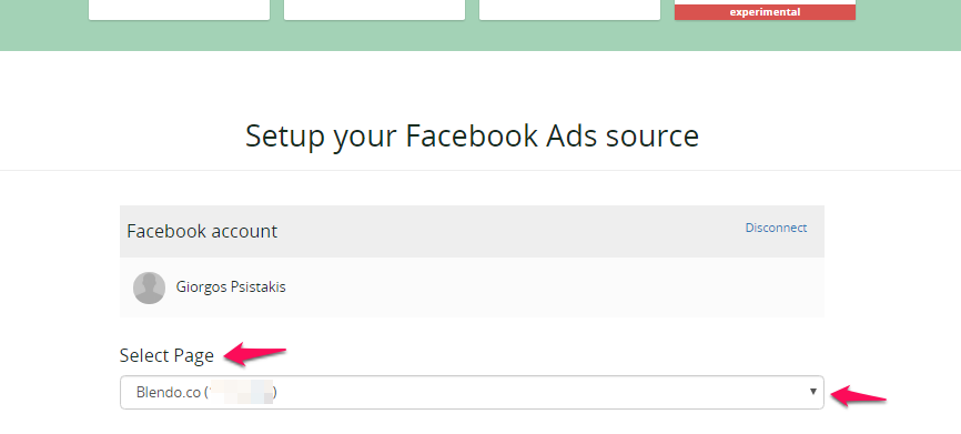 Setup Facebook Ads integration