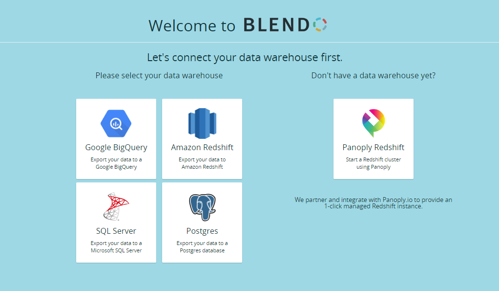 ETL data into your data warehouse