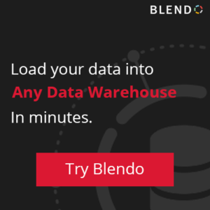 load data into any data warehouse - Blendo