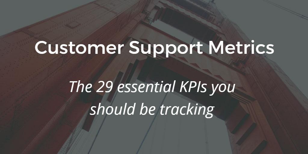 kpis for customer service