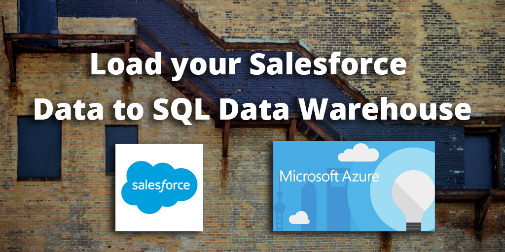 How to load Data from Salesforce to SQL Data Warehouse - Blendo