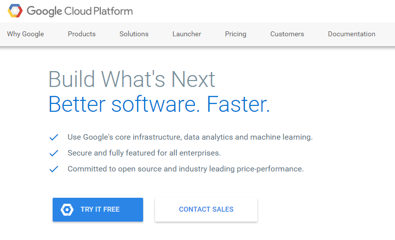 google cloud platform bigquery