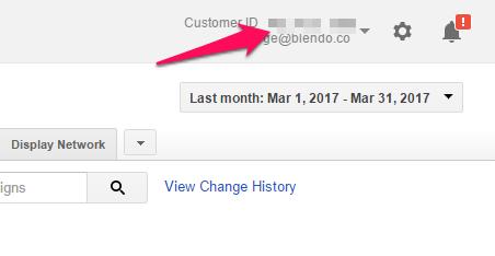 Setup Google AdWords integration