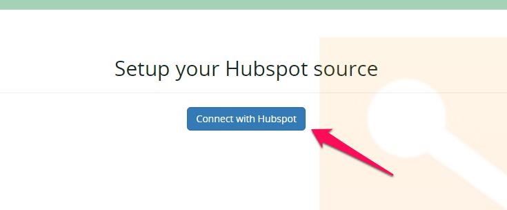 Setup Hubspot integration