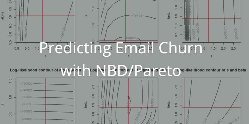 Predicting Email Churn with NBD/Pareto - Blendo