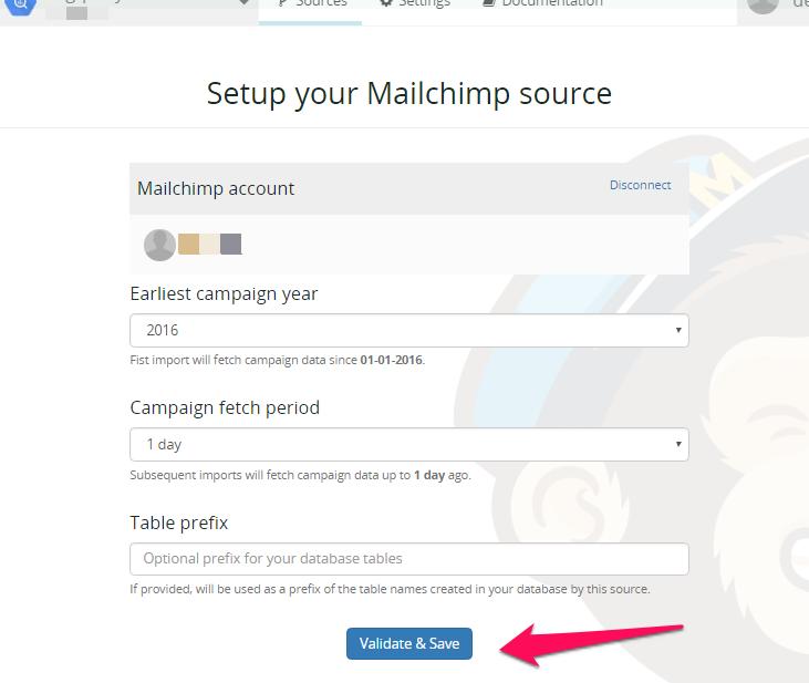 ETL Mailchimp data