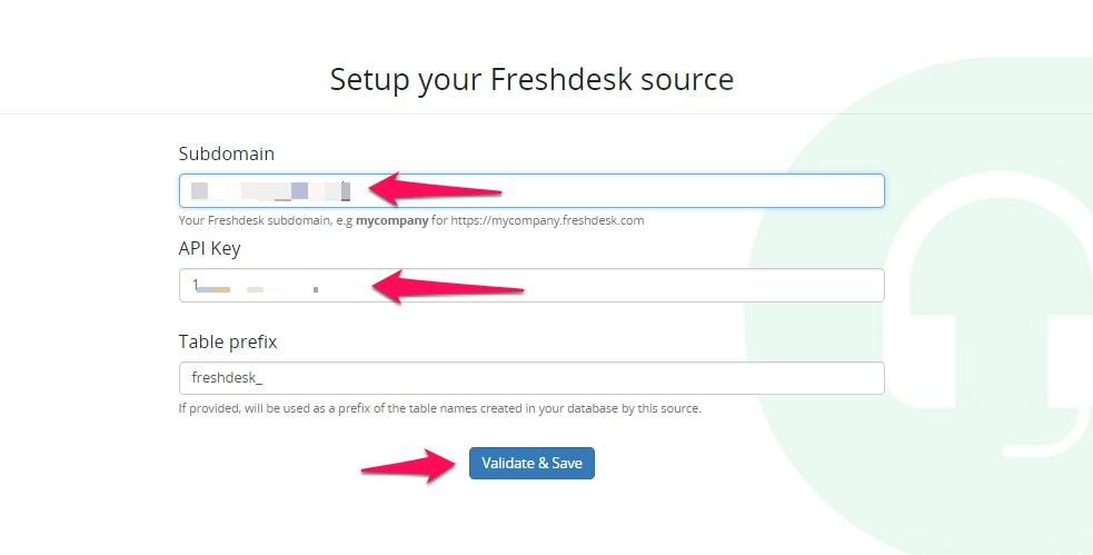 ETL Freshdesk data