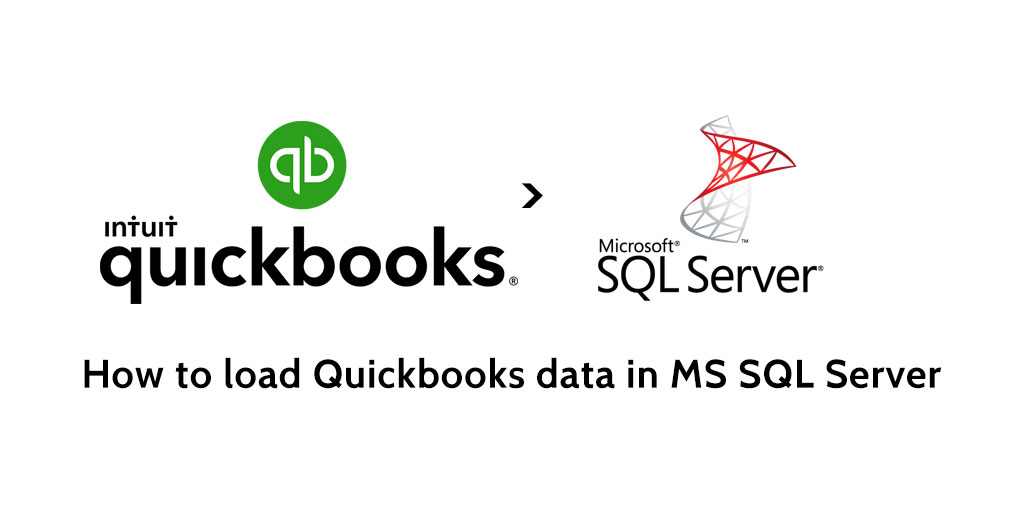 How to load data from Quickbooks to MS SQL Server - Blendo