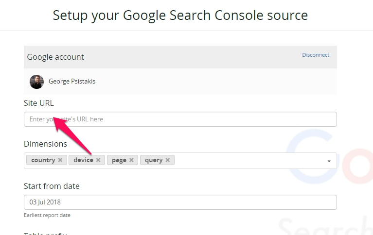 Google Search Console Integration and Expected Data - Blendo